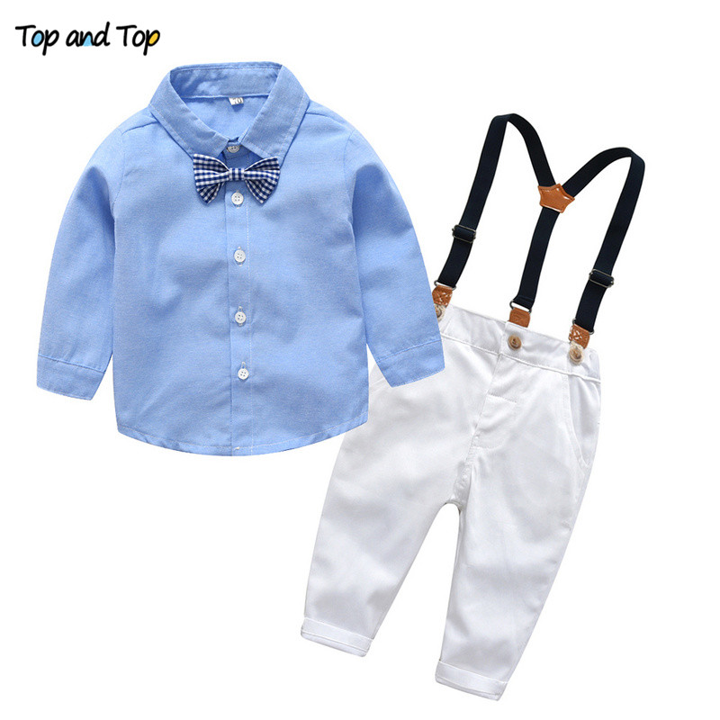 Trousers Braces /& Bow Tie 0-24 M LITTLE GENTS Baby Boy 4 Piece Outfit Set Shirt