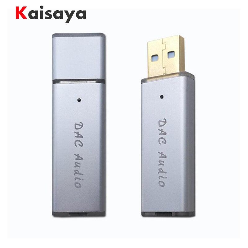 SA9023A + ES9018K2M USB portable DAC HIFI fever external audio card decoder for amplifier A6-017
