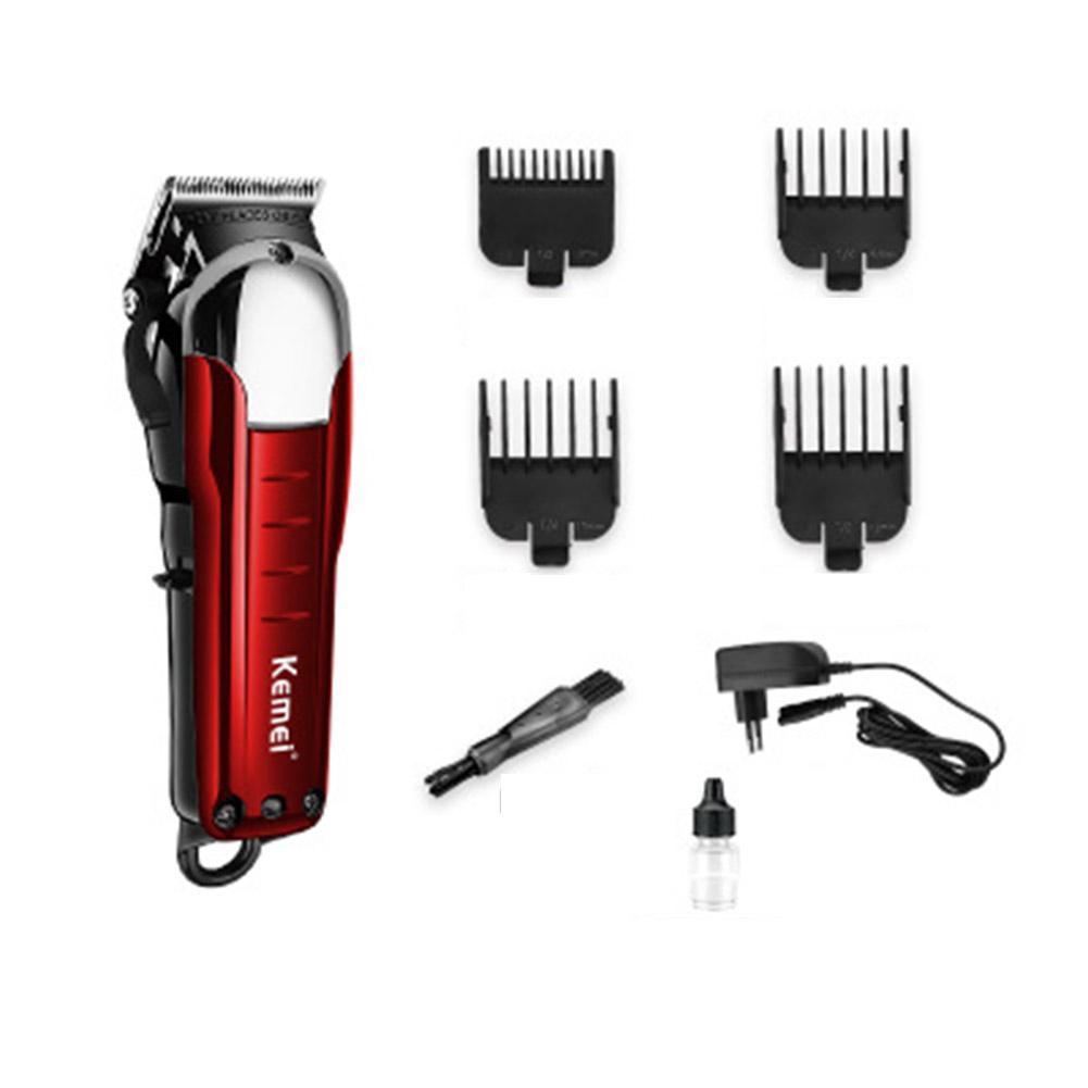 Nouvellement conception électrique tondeuse à cheveux professionnel tondeuse à cheveux Machine de découpe barbe barbier rasoir pour hommes Style outils - 6