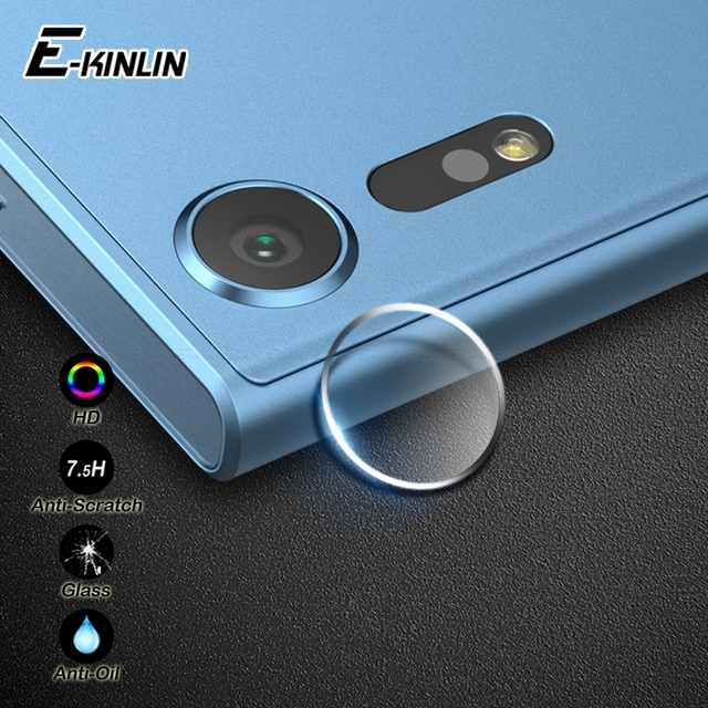 Защитная пленка для объектива задней камеры из закаленного стекла для Sony Xperia XZ1 XZS XA1 XA X XZ Premium Ultra Plus Compact