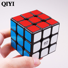 QIYI sail 3x3x3 magic speed cube pvc sticker block puzzle cubo magico professional learning educational classic