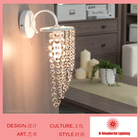 2014 Hot-sales New Modern Fashion wall lamps crystal wall light bed-lighting crystal E14 wall mounted lamps Wholesales
