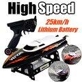 UDI001 Gran Promoción 2.4G RC Barco Velocidades Infinitamente Variables/de alta Velocidad del Barco 32 CM 25 km/h Mejor Regalo