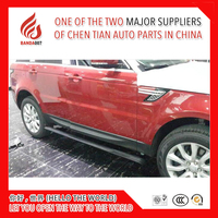 High quality aluminium Automatic scaling Electric pedal side step running board for Range rover Sport 2013 2014 2015 2016 2017