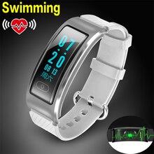 Ursprüngliche wasserdichte smart watch track armbanduhr bluetooth smartwatch pulsmesser schrittzähler fitness uhr für android ios
