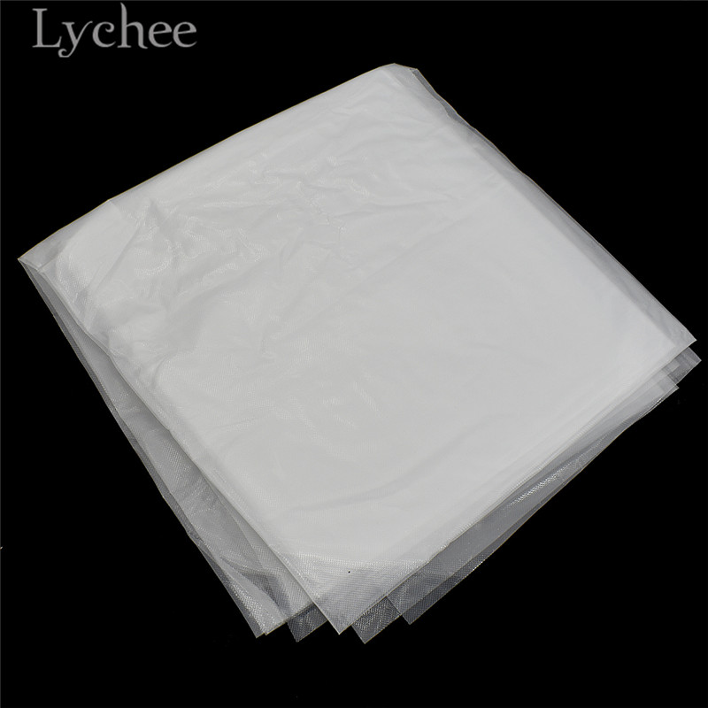 Lychee 1m Water Soluble Film Transparent Embroidery Stabilizer Sewing Supplies Accessories