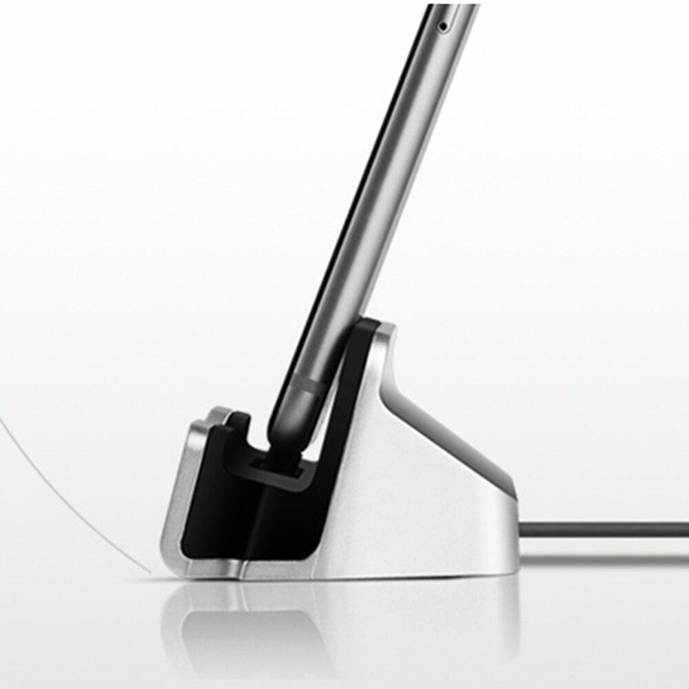 Зарядное устройство для iPhone, Xiaomi, Android, подставка-зарядка с кабелем USB типа С для обмена данными-4