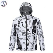2017 Mr.1991INC Hooded Jacket For Men Waterproof Polyester Quick Drying Jacket With Cap Thin Style Autumn Spring Outerwear Jacke