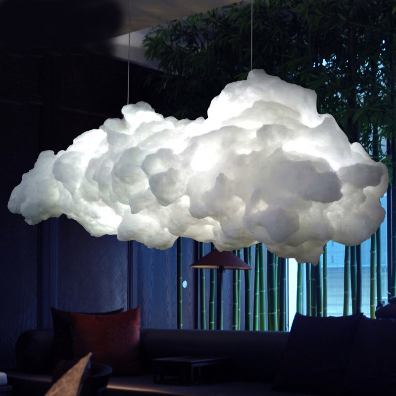 Modern Creative Romantic White Clouds Pendant Lights Led Lightning Effect Lamp White Soft Floating Cotton Cloud Hanging Light велосипед schwinn trooper 2015