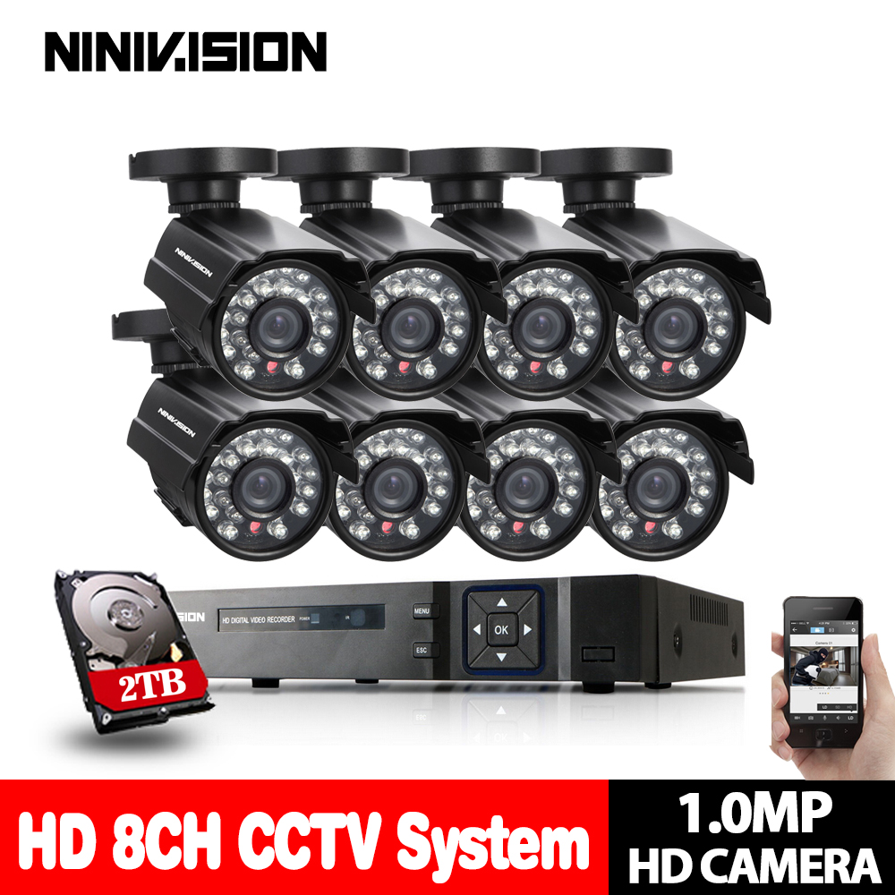 HD Wireless 3G USB CCTV home security video DVR surveillance system 8CH 1080p NVR KIT DVR 720P outdoor security Camera system escam wnk403 wireless 720p dvr kit security camera system