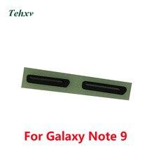 2 шт. для samsung Galaxy Note 9 N960F N960 N960U N960FD металлическая Ушная ниша для колонки Чехол черный