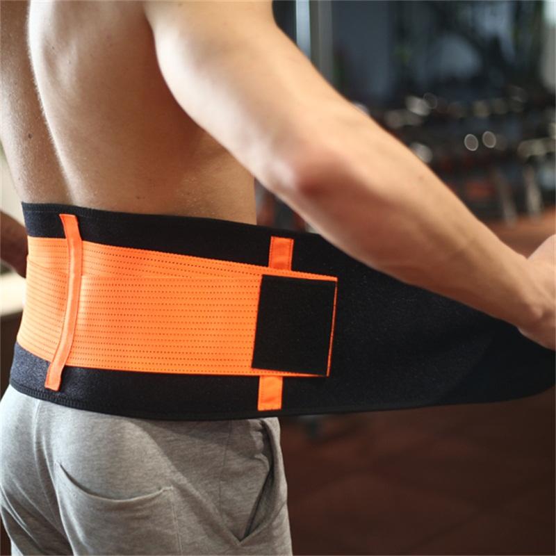 High Quality Working Waist Back Support Belt Band Lumbar Traction Apparatus New Design Back Brace Posture Corrector Belt Corset