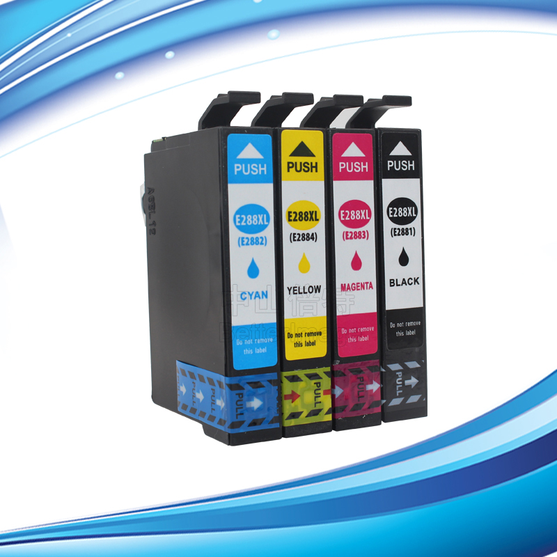 INK WAY Non OEM Ink Cartridge for Epson 288XL Black and Colour Ink Cartridges C M