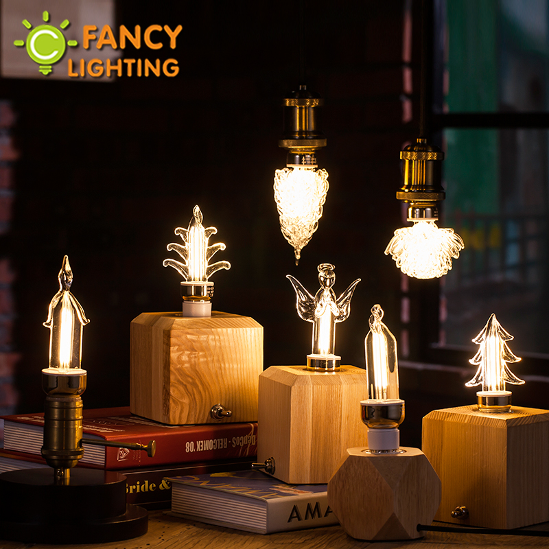 Led lamp E27/E14 decorative led light bulb 110V/220V bombillas led for home/living room/bedroom/celebration decor 3W lampada led