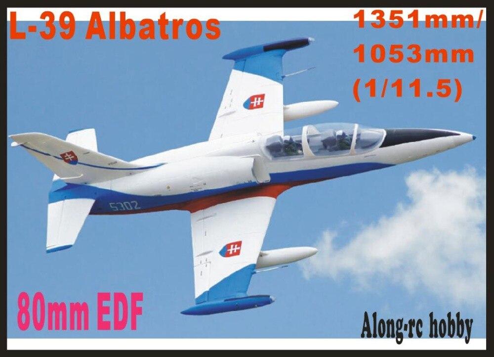 Freewing 新電動 rc 80 ジェット飛行機 80 ミリメートル edf L 39 アルバトロス飛行機 6s pnp またはキット + s 格納式飛行機モデル趣味  グループ上の おもちゃ & ホビー からの ラジコン 飛行機 の中 1
