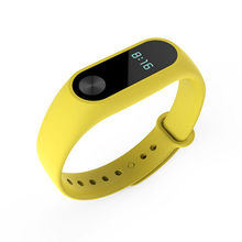 For Mi band 2 Strap Replacement Belt Smart Bracelet TPU Wristband Strap for Mi Band 2 Smart Bracelet for Xiaomi Accessories(China)