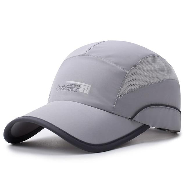 NORTHWOOD Fashion Quick Drying Summer Baseball Cap Men Bone Feminino Breathable Women Snapback Sun Cap
