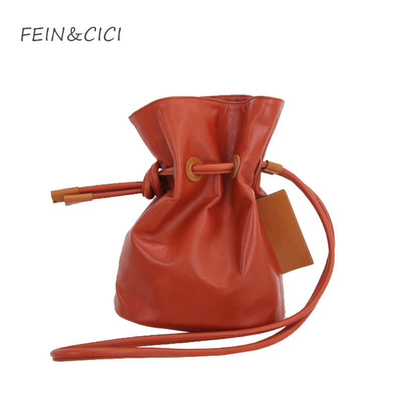 bucket bag women summer messenger bag 2018 new fashion high quality white brown blue red pink color wholesale drop shipping