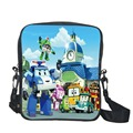 High Quality NylonRobot Car Bag Children School Bags,3D Cartoon Robocar Poli Bag Little Boys Schoolbag,Kid Bag Mochila Infantil