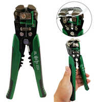 Outils à main pince à dénuder automatique pince à sertir coupe-câble de pression AWG24-10 de dénudage multioutils 0.2-6mm2 sertissage 0.5-6mm2