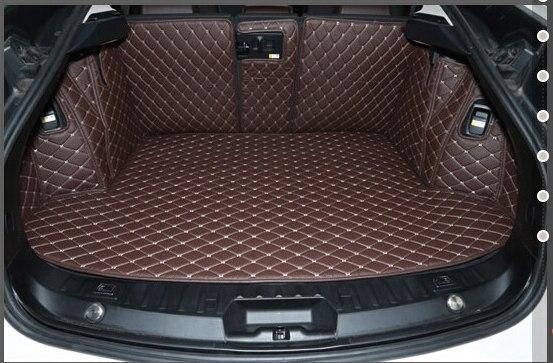 Хорошее качество! Полный набор багажнике автомобиля коврики для BMW 5 серии GT f07 2016-2010 водонепроницаемые ботинки ковры грузового лайнера ковр...