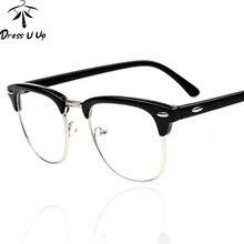 dressuup vintage glasses women brand designer glasses frame woman classic eyeglasses frames men oculos de grau feminino