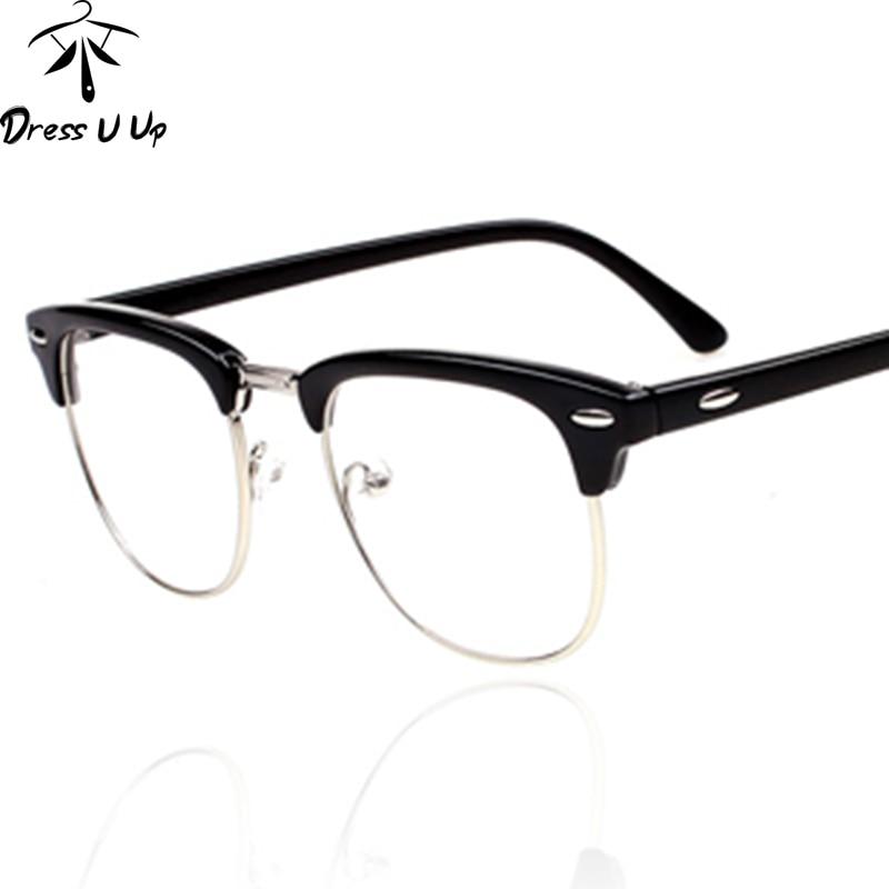 black friday dressuup vintage glasses women brand designer glasses frame woman classic eyeglasses frames men oculos de grau feminino