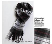 TARTAN PLAID Pashmina Shawl Stole Wrap High Quality Cashmere like Scarves L0281