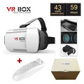 "Original Google Cardboard VR BOX I 1.0 VR Virtual Reality 3D Glasses for 4"" - 6"" Smartphone + White Bluetooth Gamepad"