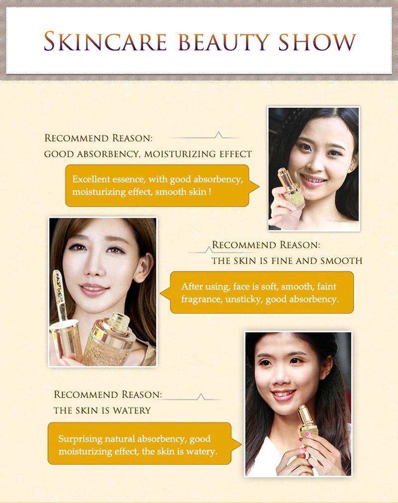 24 k BIOAQUA 24K Gold Face Cream Whitening Moisturizing 24 K Gold Day Creams & Moisturizers 24K Gold Essence Serum New Face Skin Care10