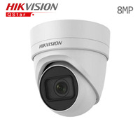 Hikvision Original English Security Camera DS 2CD2H85FWD IZS 8MP Vari Focal Turret CCTV IP Camera H
