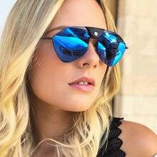 YDO Polarized Sunglasses Women Fashion 2019 Pilot Luxury Brand Big Size Sun Glasses Leather Bridge Oversized Shades