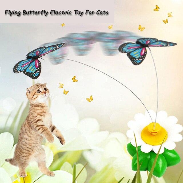 Produkt Für Katze Haustier Bunte Lustige Fliegende Schmetterling ...