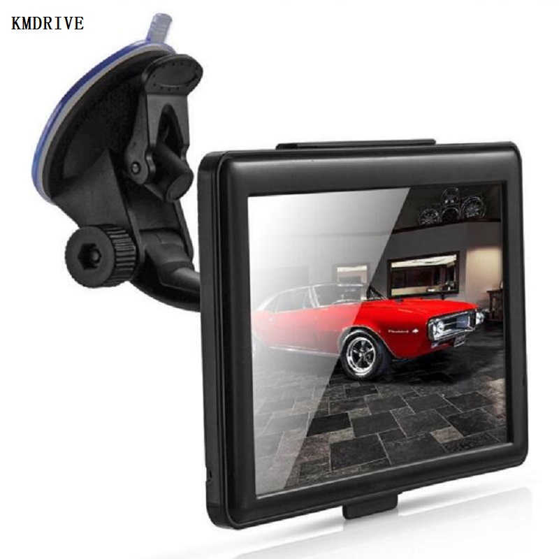 7 inch Car GPS Navigation Satnav 256M RAM 8gb Support Russia/EU/Norht &South America/Asia/Africa/AU NZ/Middle east Maps