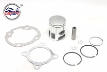 40MM 10MM Piston Kit  50cc Minarelli Jog 50 50CC 1E40QMB Jonway Jmstar Yiying  Sunny Keeway  Roketa  Scooter ATV Buggy