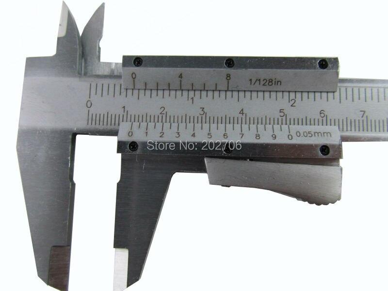 """Штангенциркуль высокого качества из нержавеющей стали с самофиксацией """" 0-150 мм моноблок ползунок суппорт микрометр прибор Измерение Инструменты"""
