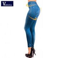 Hot Sale Women Leggings Jeans Leggins Black Jeggings 2016 Causal Plus Size Jeggings Femal Blue Gray