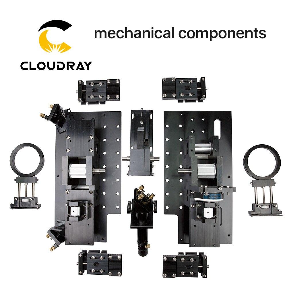 Ensemble complet composants mécaniques pour bricolage grand format CO2 laser découpage et gravure machine 1318 1325 1518 1525 1820 1825 2030
