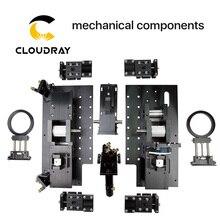 Hele set mechanische componenten voor DIY grootformaat CO2 lasersnijden en graveermachine 1318 1325 1518 1525 1820 1825 2030