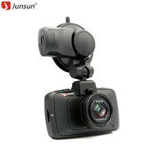 Junsun HD 1296 P Coche DVR Cámara de Visión Nocturna de la Videocámara Grabadora de Vídeo GPS Registrador Dash Cam g-sensor WDR LDWS GPS logger