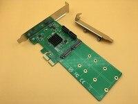 PCI E to 2 port M.2 NGFF SSD + 2 port SATA 3.0 Raid Card Hardware RAID Cards Support RAID 0 / 1 / 10