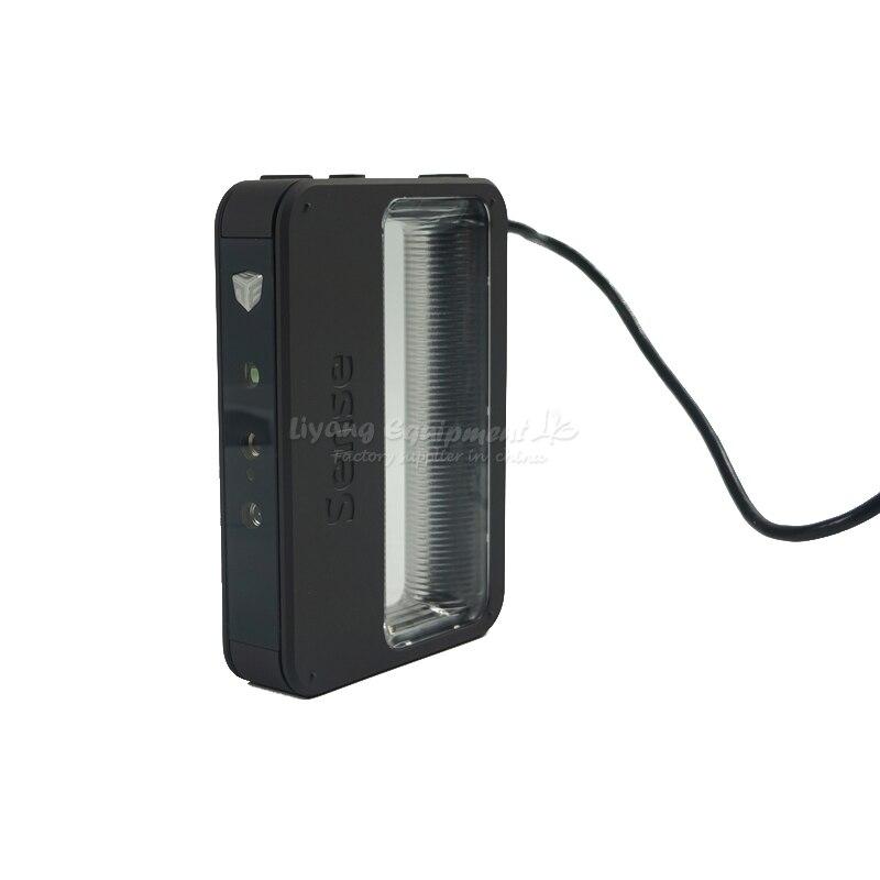 More convenient hand-held portable multi-colour SENSE 3D scanner sense and sensibility