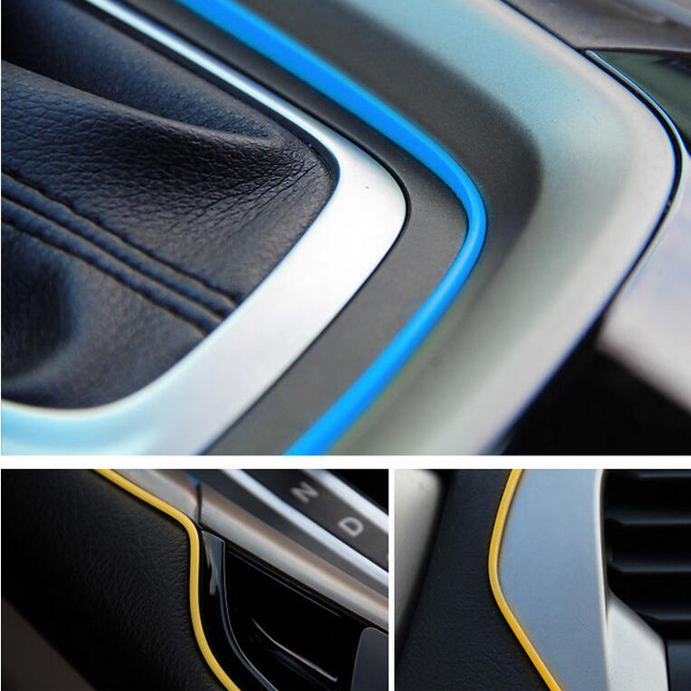 Car styling gap decoration thread sticker for suzuki sx4 for Alto car decoration