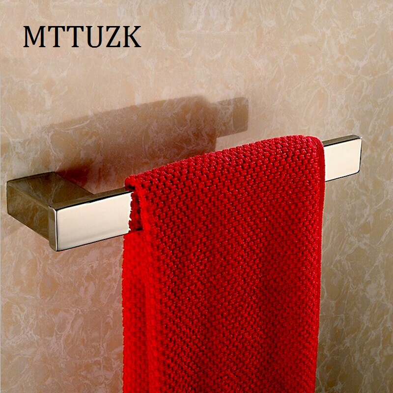 Free shipping Bathroom accessories 304 stainless steel towel bar square towel rack stainless steel square tube rotary electric heating towel bar towel rack