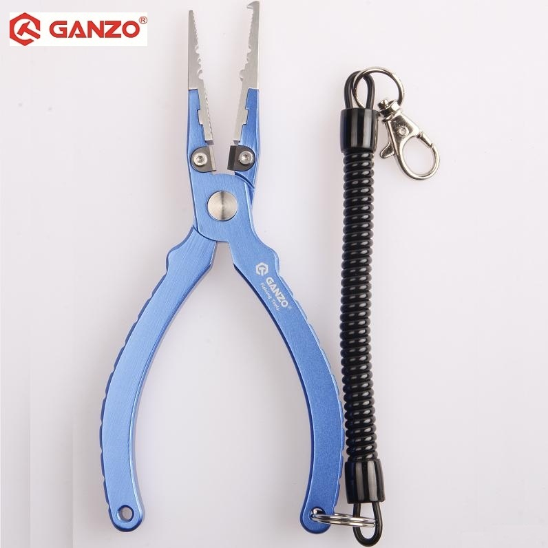 Ganzo Multi Pliers Stainless Steel Knife Pliers tool Luya pliers with chain Fishing pliers blue G802 noise cancelling earphone stereo earbuds reflective fiber cloth line headset music headphones for iphone mobile phone mp3 mp4 page 3