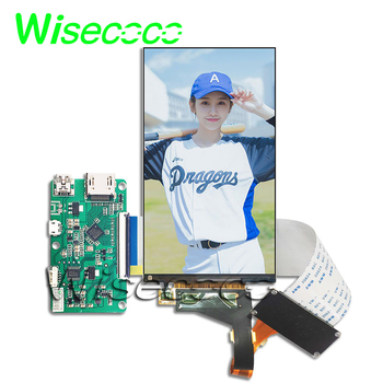 5 5 inch 2k lcd module lcd screen display and hdmi mipi driver board replacement for wanhao duplicator 7 3d printer vr glass 5.5 inch 2K LCD Screen display LS055R1SX04  to MIPI controller board  printer With screen protector removed backlight