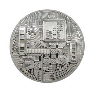 1 шт. позолоченная монета Биткоин коллекционный подарок Casascius Бит монета арт-коллекция монет BTC физическая памятная монета TSLM1