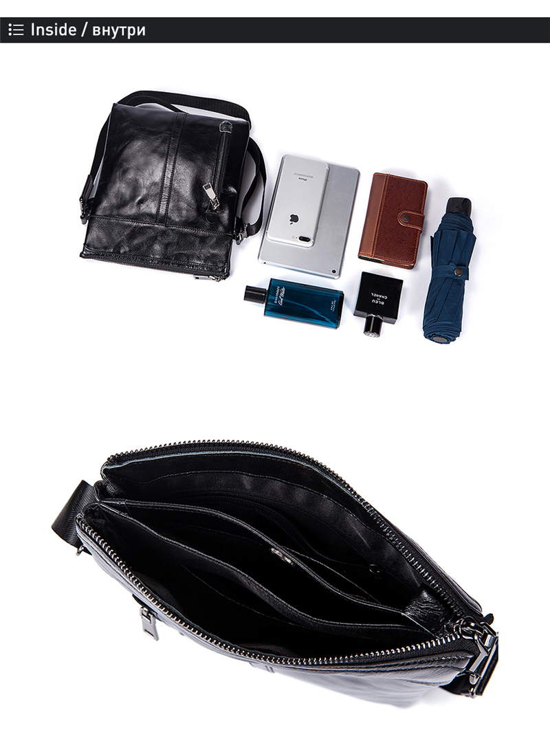 2 messenger bags men leather