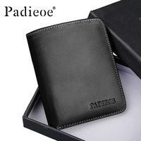 Padieoe Famous Brand Men S Mini Wallet New Design Luxury Men Wallet Portable 2017 Fashion Card