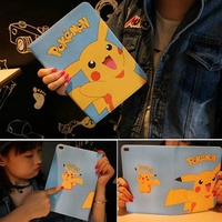Tablet Case For Ipad 6 Ipad Air 2 Cute Cartoon Prints PU Leather Soft Protective Cover